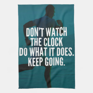 Keep Going - Workout Motivational Hand Towels