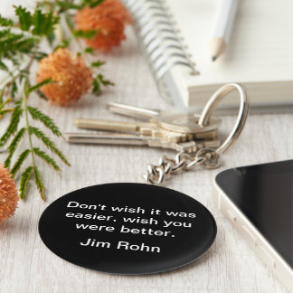 Keep growing keychain