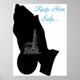 Keep Him Safe.. Poster