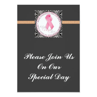 keep hope alive pink ribbon breast cancer card