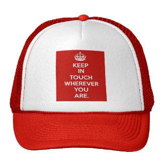 Keep in Touch Trucker Hat