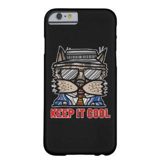 """""""Keep It Cool"""" BuddaKats Glossy Phone Case"""