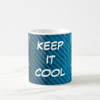KEEP IT COOL CLASSIC WHITE COFFEE MUG