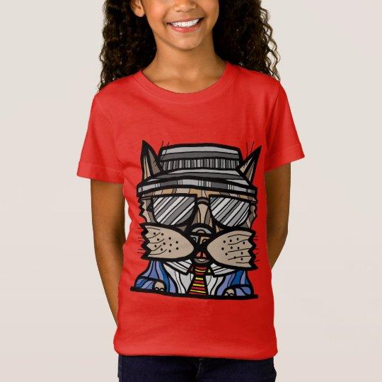 """""""Keep It Cool"""" Girls' Fine Jersey T-Shirt"""