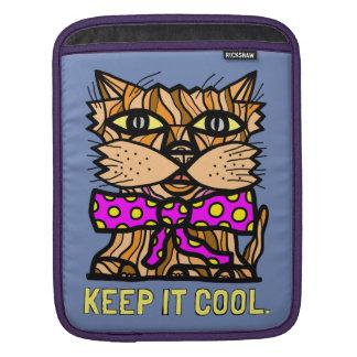 """""""Keep It Cool"""" iPad, iPad Mini, MacBook Air Sleeve"""