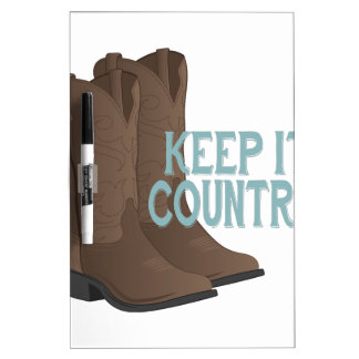 Keep It Country Dry-Erase Board