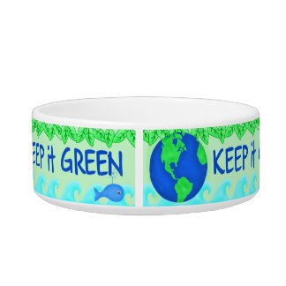 Keep It Green Ecology Pet Food Bowl