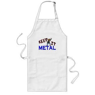 Keep It Metal Long Apron