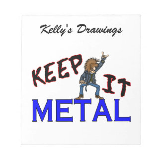 Keep It Metal Notepads