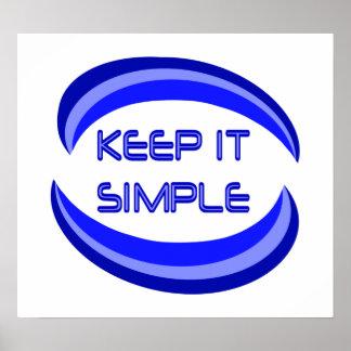 Keep It Simple Print