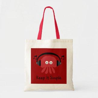 Keep It Simple Red DJ Jellyfish Customizable