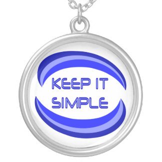 Keep it Simple Silver Plated Necklace