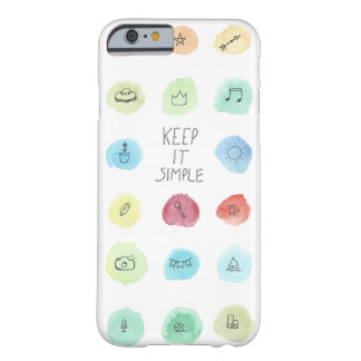 Keep It Simple Splotch Pattern on Case