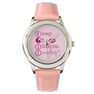 Keep it Simple Sweetheart Watch