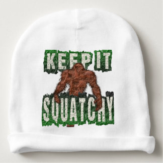 KEEP IT SQUATCHY BABY BEANIE