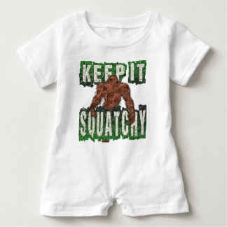KEEP IT SQUATCHY BABY ROMPER