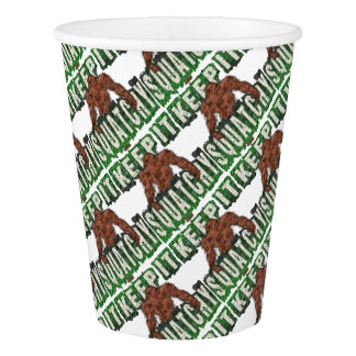 KEEP IT SQUATCHY PAPER CUP