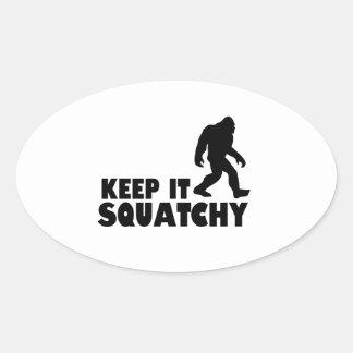 Keep it Squatchy | Sasquatch Bigfoot Stickers