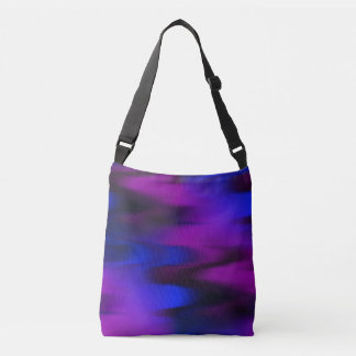Keep It Wavy (Black, Blue, Purple) by ngwoosh Crossbody Bag