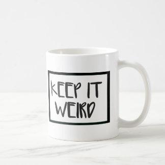 Keep It Weird Mug