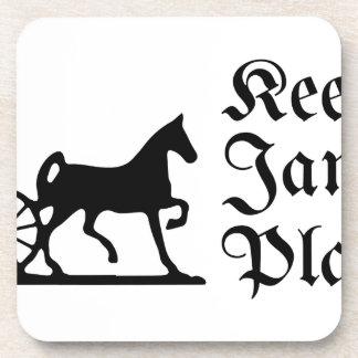 Keep Jamaica Plain Coaster
