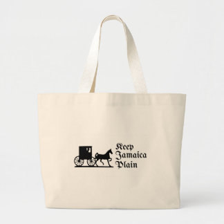Keep Jamaica Plain Large Tote Bag