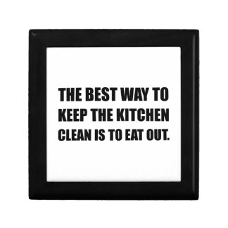 Keep Kitchen Clean Eat Out Gift Box