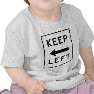 Keep Left Democratic Swag Tee Shirt