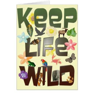 Keep Life Wild Card