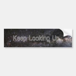 """Keep Looking Up"" Bumper Sticker"