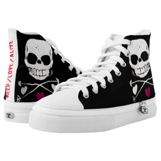 'Keep Love Alive' high tops basic
