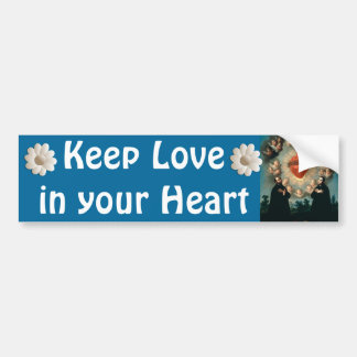 Keep Love bumper sticker