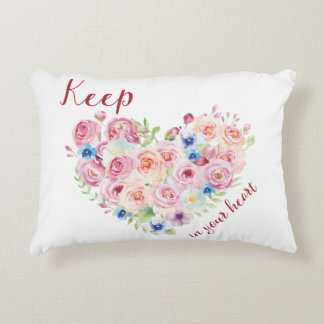 Keep Love in Your Heart Decorative Pillow