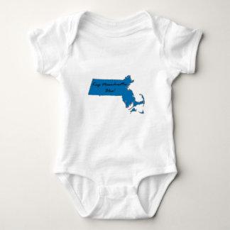 Keep Massachusetts Blue! Democratic Pride! Baby Bodysuit
