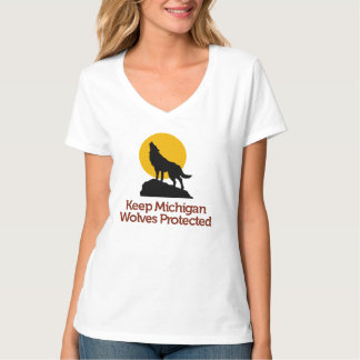Keep Michigan Wolves Protected T-Shirt: Colbie T-Shirt