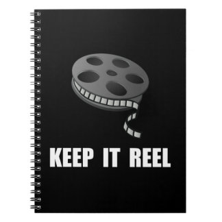 Keep Movie Reel Spiral Notebooks