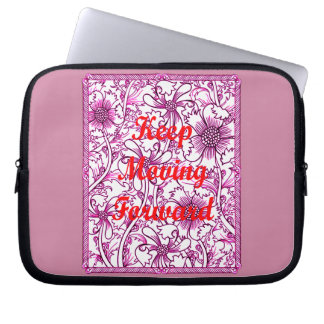 Keep Moving Forward Laptop Sleeve