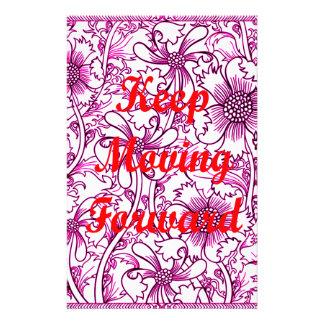 Keep Moving Forward Stationery