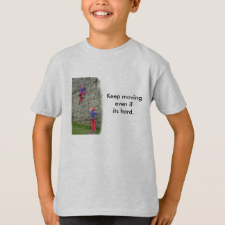 Keep Moving Kids T-Shirt