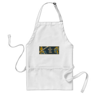 Keep Mum The World Has Ears Adult Apron