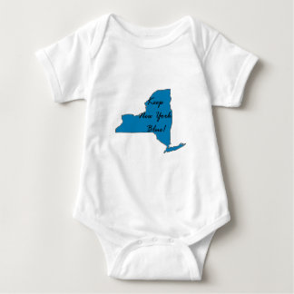 Keep New York Blue! Democratic Pride! Baby Bodysuit