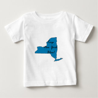 Keep New York Blue! Democratic Pride! Baby T-Shirt