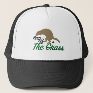 Keep Off Grass Trucker Hat