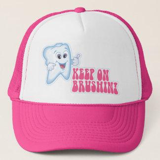 Keep On Brushing Trucker Hat
