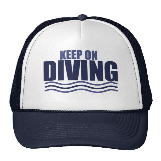 Keep on Diving Trucker Hat