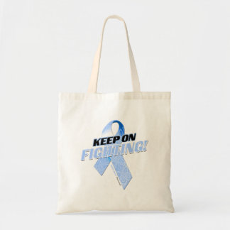 Keep on Fighting Colon Cancer Tote Bag