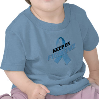 Keep on Fighting Prostate Cancer Tee Shirt