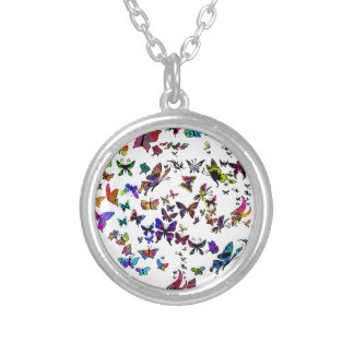 Keep on Flying Silver Plated Necklace