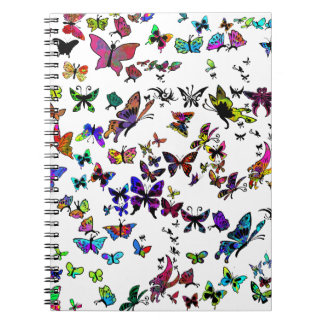 Keep on Flying Spiral Note Book