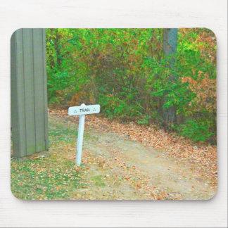 Keep On Hiking Mouse Pad